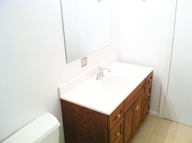 Minnesota Full Bath Vanity After